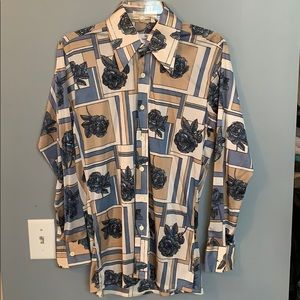 REDWOOD & ROSS Vintage Men's Disco Shirt